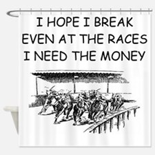 RACES2 Shower Curtain