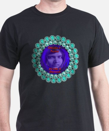 Malala Blue Diamond T-Shirt