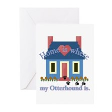 Otterhound Greeting Cards (Pk of 10)