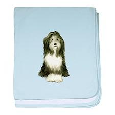 Bearded Collie (#8) baby blanket