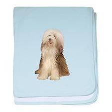 Bearded Collie (#10) baby blanket