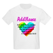 1 CORINTHIANS 13:13 T-Shirt
