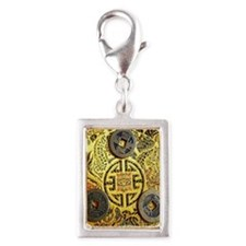 I-Ching Silver Portrait Charm