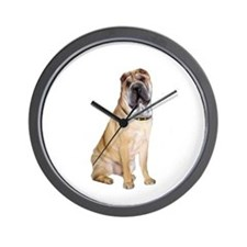 SharPei (#5) Wall Clock