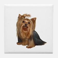 Yorkshire Terrier (#7) Tile Coaster