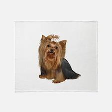 Yorkshire Terrier (#7) Throw Blanket