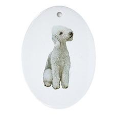 Bedlington Terrier Ornament (Oval)