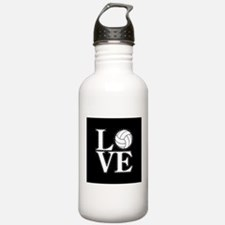 LOVE VOLLEYBALL BLK Water Bottle