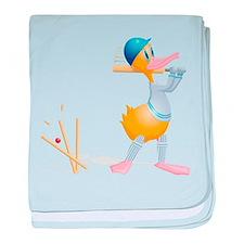 Essex County Cricket baby blanket