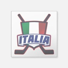 Italian Italia Hockey Sticker