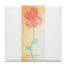 spring is in the air Tile Coaster