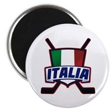 Italian Italia Hockey Magnets