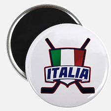 Italian Italia Hockey Magnets