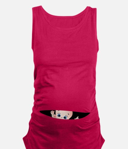 Cool Pregnant Maternity Tank Top