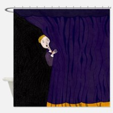 The Man Behind The Curtain Shower Curtain
