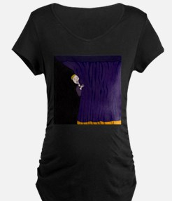 The Man Behind The Curtain Maternity T-Shirt