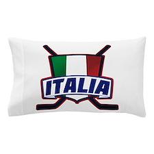 Italian Italia Hockey Pillow Case