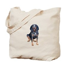 Blue Tick Coon Hound 1 Tote Bag