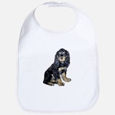 Cocker-black-tan Bib
