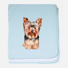Yorkshire Terrier (#17) baby blanket