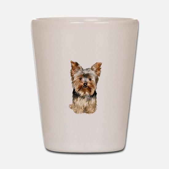 Yorkshire Terrier (#17) Shot Glass