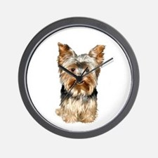 Yorkshire Terrier (#17) Wall Clock