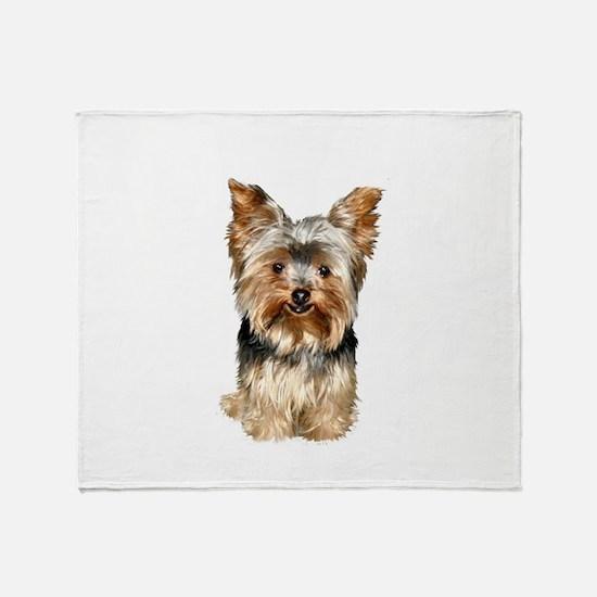 Yorkshire Terrier (#17) Throw Blanket