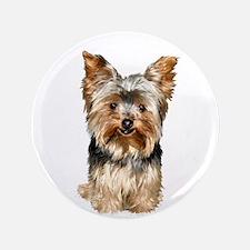 "Yorkshire Terrier (#17) 3.5"" Button"
