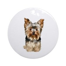 Yorkshire Terrier (#17) Ornament (Round)