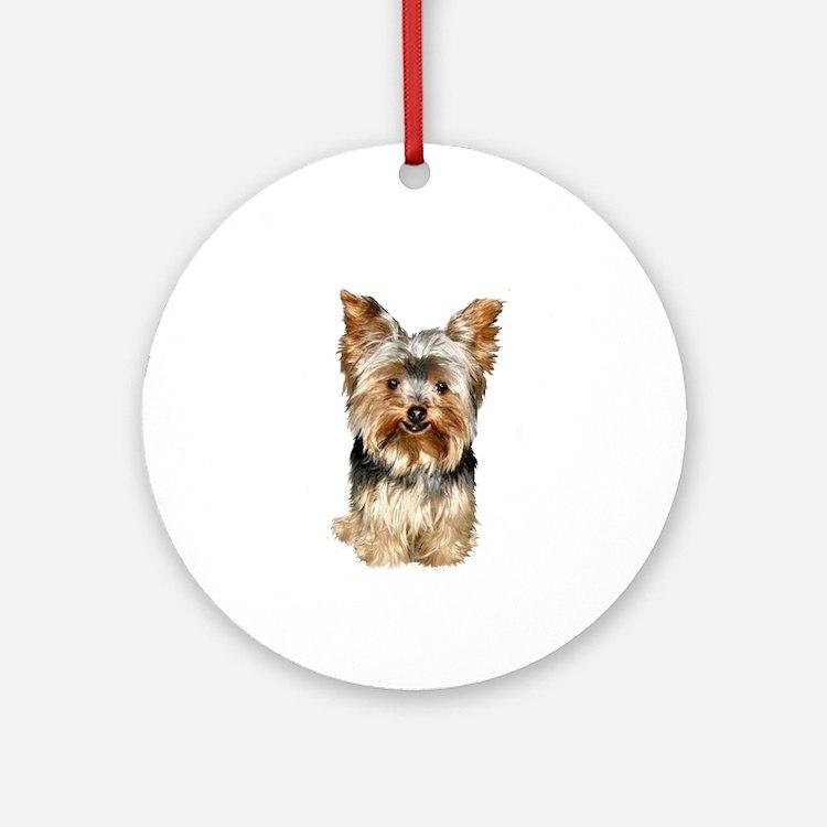 Yorkshire Terrier (#17) Ornament (Round)