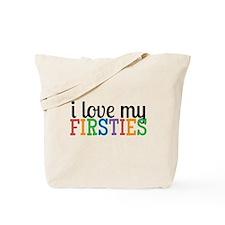 Love My Firsties Tote Bag