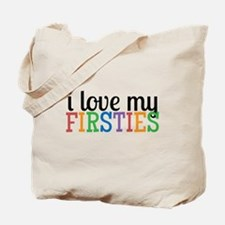 Love My Firsties Tote Bag