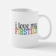 Love My Firsties Mugs