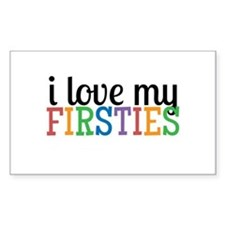 Love My Firsties Decal