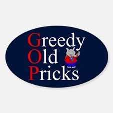 Anti GOP Sticker (Oval)