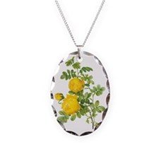 Vintage Yellow Roses by Redout Necklace