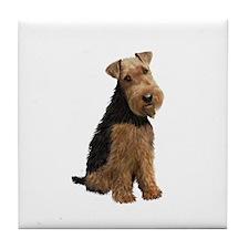 Welsh Terrier #1 Tile Coaster