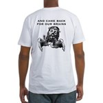 Zombie Jesus Hungers!  Fitted T-Shirt
