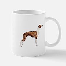 Whippet (brindle-Wht) Mug
