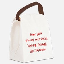 Restraints Canvas Lunch Bag