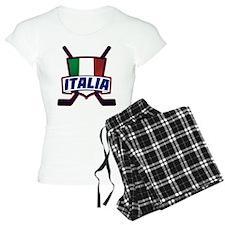 Italian Italia Hockey Pajamas