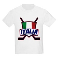 Italian Italia Hockey T-Shirt