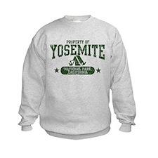 Yosemite Nat Park Tent Sweatshirt