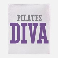 Pilates DIVA Throw Blanket