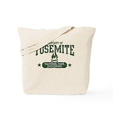 Yosemite Nat Park Campfire Tote Bag
