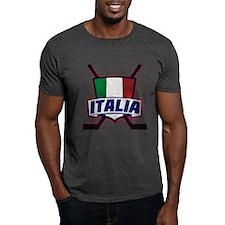 Italian Italia Hockey T-Shirt
