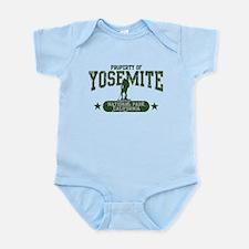 Yosemite Nat Park Hiker Guy Infant Bodysuit