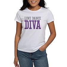 Line Dance DIVA Tee