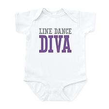 Line Dance DIVA Infant Bodysuit