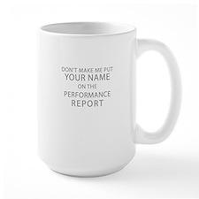 Performance Report Mugs